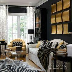Candice Olson Designs... Living Room.