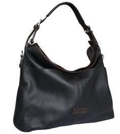 Beautiful luxury leather hobo bucket bag from Attavanti d5c445c4b4766