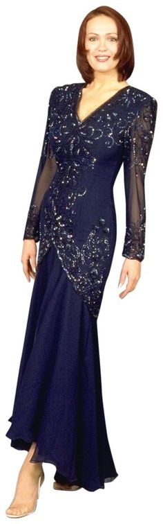 plus size mother of the bride dresses in rich blue 2013