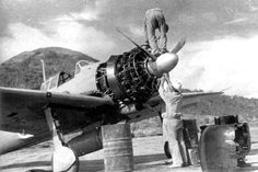 Mitsubishi A6M2b Zero Fighter Imperial Japanese Navy Fighter Rabaul 1942. 零式艦上戦闘機二一型 Armory & NWOBHM