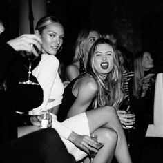 "vogue-at-heart: ""Candice Swanepoel & Behati Prinsloo """