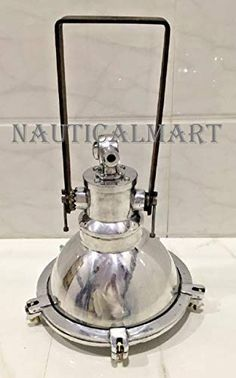 nautical vintage style hanging ceiling cargo pendant light aluminium new 1 piece