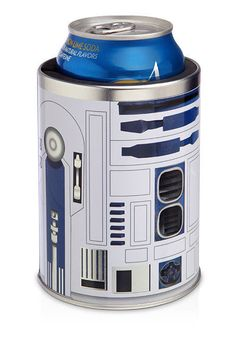 Star Wars R2-D2 Can Cooler - R2-D2 Can Koozie - Star Wars Can Cooler #Disney