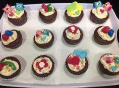 San Valentim cupcakes