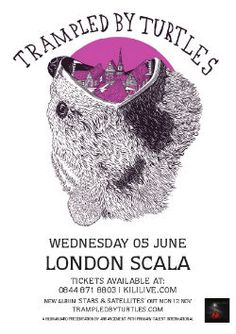 Trampled by Turtles (Scala, June 2013)