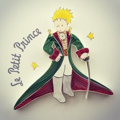 Le Petit Prince quilled #paper art by Sena Runa