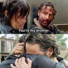 Glad they reunited :') #TheWalkingDead #TWD #WalkingDead #RickGrimes #DarylDixon