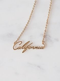 California Love Necklace /