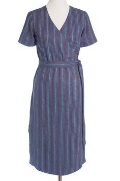Highlands Wrap Dress by Allie Olson | Indiesew.com