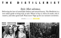 http://www.thedistillerist.com/  I like how clean the design and the individual blog pages (http://www.thedistillerist.com/city-guides-nyc/).
