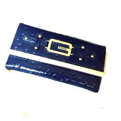 Navy blue Guess wallet