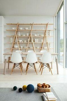 Minimalist dining room #Esszimmer love love love!