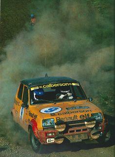 Jean Ragnotti-Andrié - Renault 5 Alpine - Rallye de L'Acropole (1979)  L'année automobile 1979-80