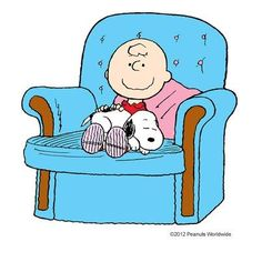 Charlie Brown and Snoopy and Cuddles.