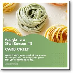 """""""To prevent Carb Creep, keep track of the number of total (not net) carbohydrate grams that you consume each day. By doing this, you avoid mindlessly taking in too many carbs for your metabolism..."""" Weight Loss Goals, Healthy Weight Loss, Superfoods, Metabolism, Low Carb, Track, Number, Runway, Super Foods"""