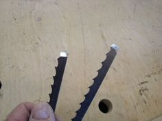 How to silver solder band saw blades - by hydro @ LumberJocks.com ~ woodworking…