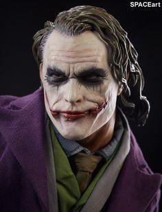 Batman - The Dark Knight: Joker, Statue / Premium Format Figur ... https://spaceart.de/produkte/bm038.php