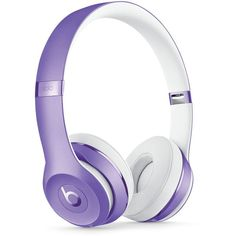 Beats by Dr. Dre Solo 3 Wireless Headphones (400 AUD) ❤ liked on Polyvore featuring men's fashion, men's accessories, men's tech accessories and ultraviolet purple