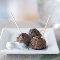 lamb meatballs with cilantro raita lamb meatballs with cilantro raita ...
