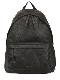 GIVENCHY - MATTE BUBBLE LEATHER BACKPACK - LUISAVIAROMA - LUXURY SHOPPING WORLDWIDE SHIPPING - FLORENCE