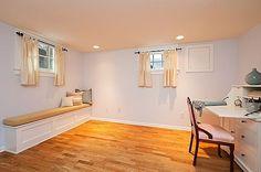 Basement window curtains on pinterest basements basement windows