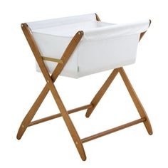 Cariboo Folding Bassinet - Teak