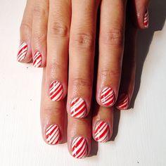 christmas by thisisvenice #nail #nails #nailart