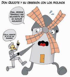 ñ: El ingenioso fidalgo Don Quijote de la Mancha, por Miguel de Cervantes Saavedra