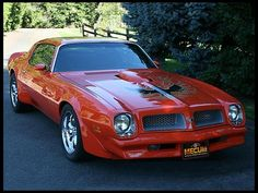 Pontiac's Firebird Trans Am carried the muscle car standard long after most of its competition had disappeared, offering its high-torque 455 CI engine until 1976, when this Carousel Red 4-speed first issued from the factory.
