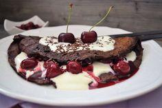 Schokoladenpfannkuchen Schwarzwälder-Art | Blackforestkitchenblog