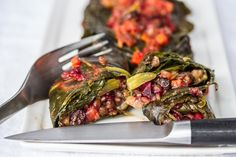 Stuffed Collard Leaves | The Joy of Cooking
