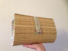 """Nashla Complementos: TECNICA DEL CARTONAJE!!!! ----------------- Bolsos de mano o """"Clutch"""" Ankara Bags, Diy Clutch, Diy Handbag, Diy Bags, Crafty Craft, Diy Accessories, Basket Weaving, Fashion Bags, Sewing Projects"""