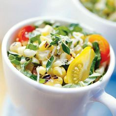 Grilled Corn Salad--can't wait for summer!