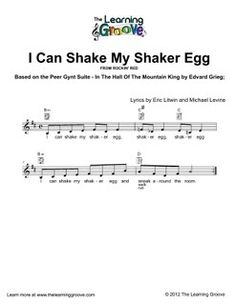 I Can Shake My Shaker Egg (In the Hall of the Mountain King) - TLG Children's Songs and Activities
