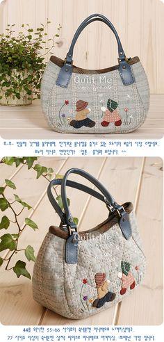 퀼트미 [민들레 갓씨 미니토트백(패턴)]