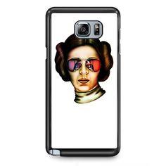 Star Wars Leila With Glasses TATUM-10025 Samsung Phonecase Cover Samsung Galaxy Note 2 Note 3 Note 4 Note 5 Note Edge