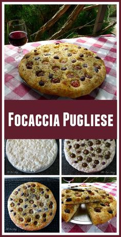 Focaccia Pugliese - All Our Way: Focaccia Pugliese - All Our Way