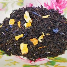 Mindful Morning Earl Grey Blend - organic, loose leaf #tea full of flavor.  Yummiest earl grey you can buy online!