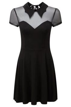 Vampyra Night Creature Skater Dress [B] Dark Fashion, Gothic Fashion, Steampunk Fashion, Emo Fashion, Fashion Clothes, Grunge Style, Estilo Dark, Mode Steampunk, Gothic Steampunk