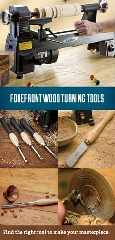 Explore the wide range of wood turning tools, from classic gouges to the latest innovations.