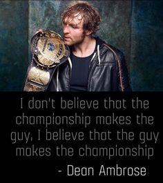 No creo que el campeonato hace que el chico , que creo que el tipo hace que el campeonato