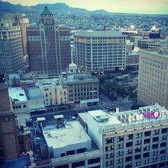 Rise and shine from Sun City's Center our Downtown. #DTEP #ItsAllGoodep #elpaso #elchuco #Texas #Authentico