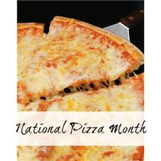 National Pizza Month (October).