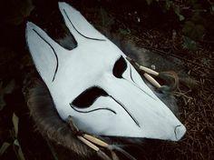 Fox Spirit Shaman Mask on Etsy, $119.00