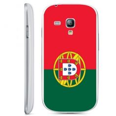 Coque Portugal Samsung S3 Mini. Rigide ou de silicone la coque drapeau du Portugal pour le telephone portable S3 mini i8190, en vente chez Kinghousse.fr #Coque #portugal #drapeau #s3 #mini #i8190 #case #cover