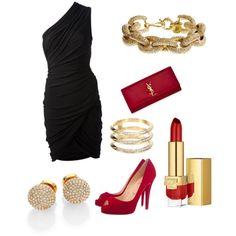 Polyvore, Clothing, Black, Dresses, Fashion, Outfits, Vestidos, Moda, Black People