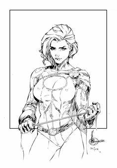 Power Girl by Kenneth Rocafort & devgear