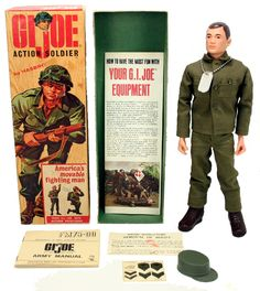 If you were born in 1964, then you grew up in a kid world who had G.I. Joe action dolls - Hasbro brought them out the year you were born - they came in all 4 of the US military branches.