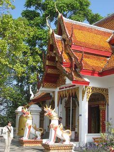 Temple, Doi Suthep, Chiang Mai, Thailand.  Photo:  locationindependent, via Flickr