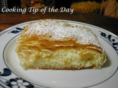 This surprisingly easy recipe for Cheese Strudel comes just in time for Oktober Fest… have yourself a wonderful German treat! TIPS . Summer Dessert Recipes, Just Desserts, Holiday Recipes, Delicious Desserts, Yummy Food, Strudel Recipes, Pastry Recipes, Croatian Recipes, Tarts